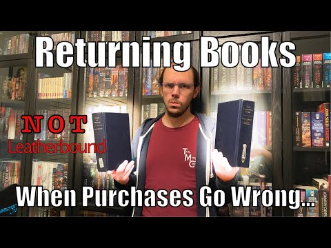 Getting a Refund when your book purchase goes wrong.