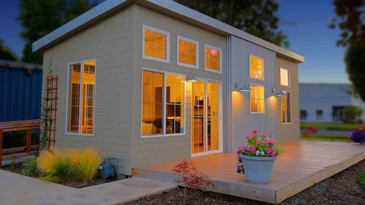 🔝 [BEST] Prefab Homes Design Ideas 2018 | Incredible Tiny ...