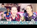 PRANK CALLING YOUTUBERS W/ JENNA MARBLES