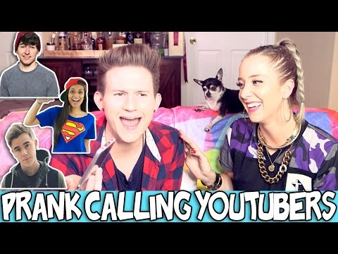 Thumbnail: PRANK CALLING YOUTUBERS W/ JENNA MARBLES