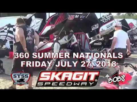 Skagit Speedway 360 Summer Nationals 07 27 2018