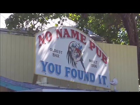 Key West - Famous NO NAME PUB ~ Flea Market (Well. Big Pine Key)