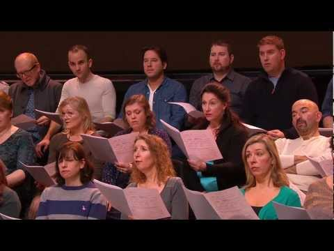 The Royal Opera Chorus rehearse 'Va Pensiero' from Verdi's Nabucco - Royal Opera LIVE