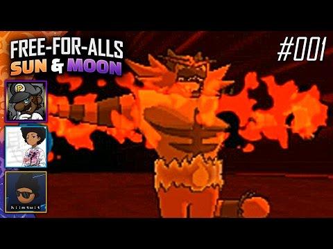 Pokémon Sun & Moon FFAs #001 Feat. PKSparkxx, SacredFireNegro & Twit!