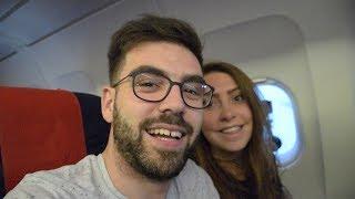 NOTRE PREMIÈRE FOIS EN AVION, & HOTEL DE LUXE A PRAGUE ! | VLOG 001