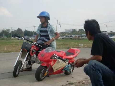 มอเตอร์ไซค์เล็ก pocketbike thailand 2010