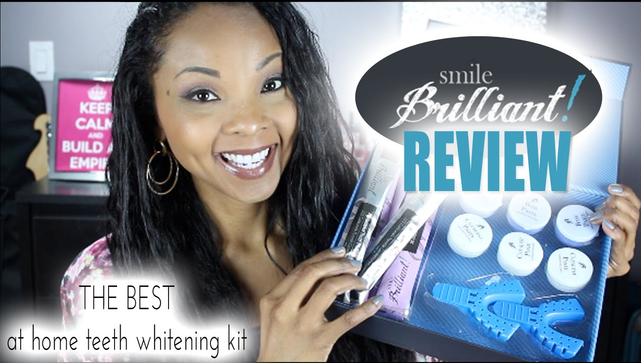 The Best At Home Teeth Whitening Kit With Custom Teeth Trays