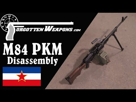 Yugoslav M84 PKM: History, Mechanics, and Disassembly
