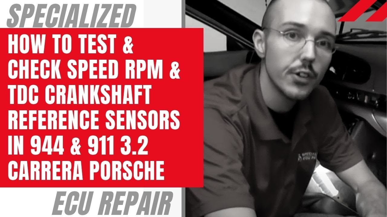 How To Test  U0026 Check Speed Rpm  U0026 Tdc Crankshaft Reference