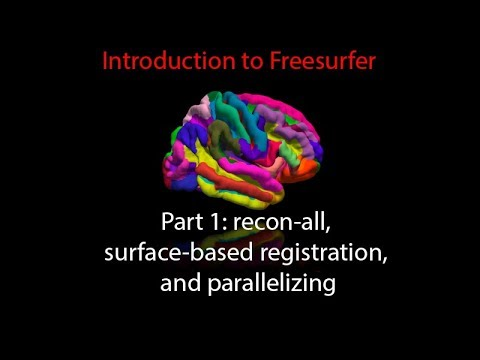 FreeSurfer Lecture #1: Overview of FreeSurfer and recon-all