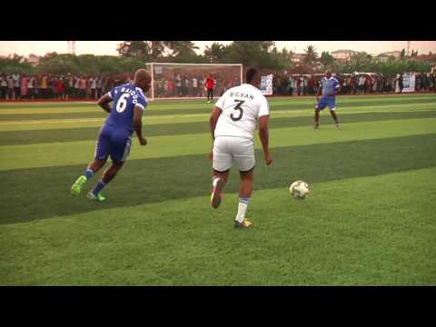 Asamoah Gyan XI 1 - 1 Black Stars XI - Asamoah Gyan Sports Centre commissioning friendly