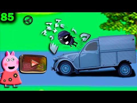 Мультики Свинка Пеппа на русском peppa 85 КНОПКА YOUTUBE Мультфильмы для детей