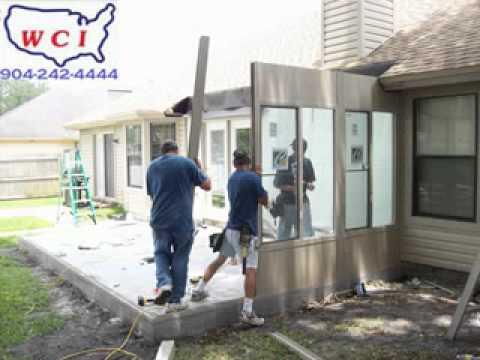 WCI Glass Sunroom Contractor 904-242-4444