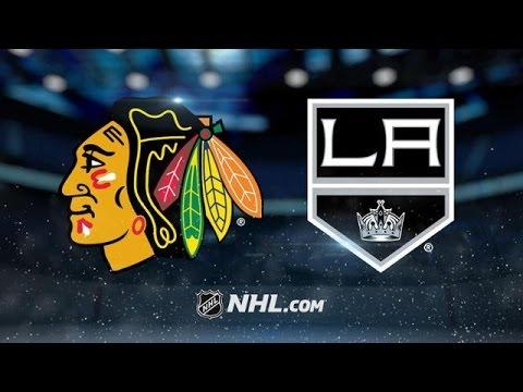 Chicago Blackhawks vs Los Angeles Kings NHL Game Recap