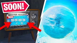 Fortnite ICE STORM EVENT Happening SOON! Fortnite Battle Royale Special Event Countdown