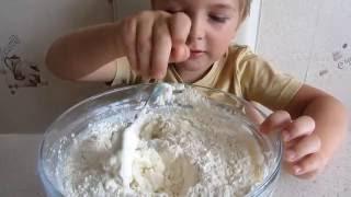 """Делаем вкусный торт """"Монастырская изба"""" make a delicious cake"""