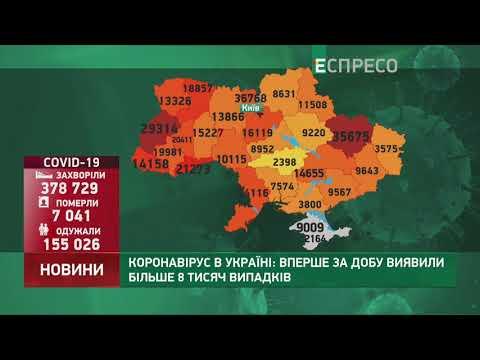 Коронавирус в Украине: статистика за 30 октября
