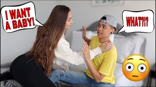 telling-my-boyfriend-i-want-a-baby-now-to-see-how-he-reacts
