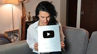За что я ПОЛУЧИЛА СЕРЕБРЯНУЮ КНОПКУ от YouTube А поговорим