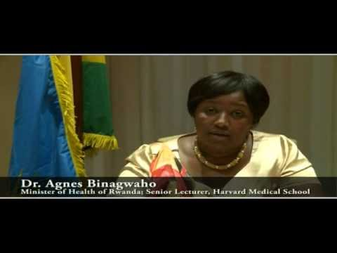 "Universal Health Coverage Conference: Dr. Agnes Binagwaho, ""The Rwandan Experience"""