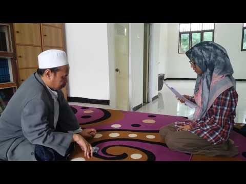 Alumni Santriwati Pondok Pesantren Putri An-Nuqoyyah Sumenep bertawassul Dengan shodaqoh produktif