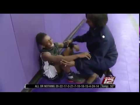 Military Mom Surprises Her 13 Year Old Son At His Basketball Game