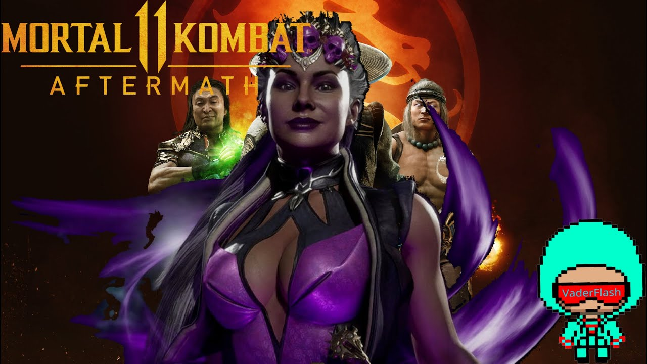 Mortal Kombat 9 - Sindel комбо урок - YouTube