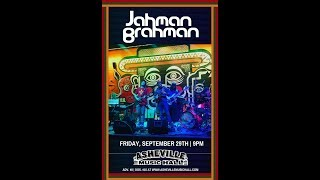 Jahman Brahman 2hr. LIVE Set @ Asheville Music Hall 9-29-2017