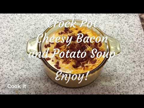 Cheesy Bacon And Potato Soup Recipe