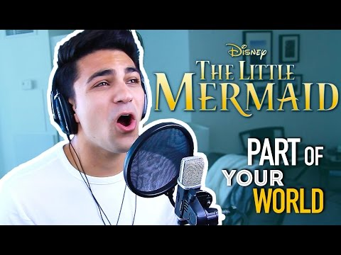 Part of Your World (Male Version) Disney Cover- The Little Mermaid | Daniel Coz