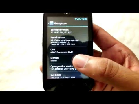Android 4.2.2 on HTC Explorer