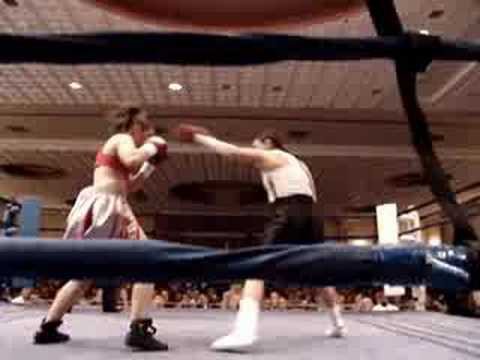 Crystal Delgado Wins by TKO