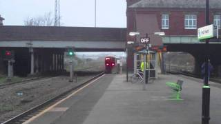 Trains at Spring Road, Hall Green & Small Heath 10-11/11/2011