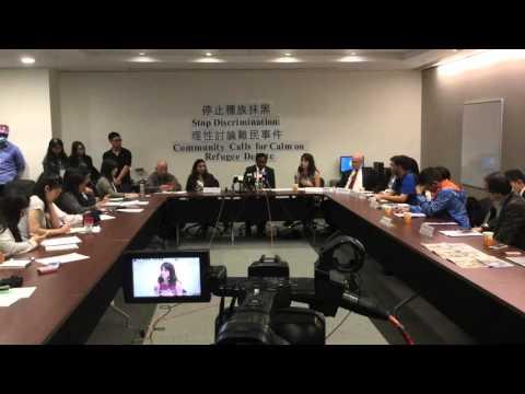 Stop discrimination against Hong Kong Refugees