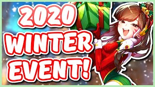 Overwatch - 2020 WIΝTER WONDERLAND EVENT EXPECTATIONS (Start Date, Skins, Competitive, AND MORE!)