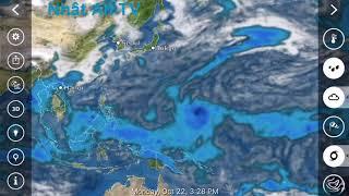 Dự báo thời tiết hôm nay ngày 22/10/2018