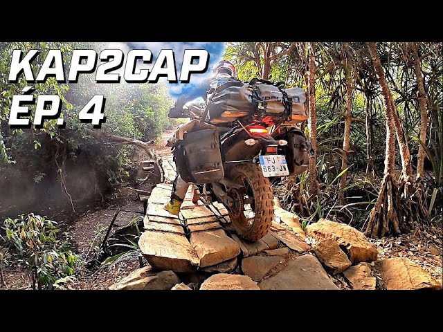 Kap2Cap Ép.4  ►Au coeur des villages guinéens ► 26.000 km en Ténéré 700