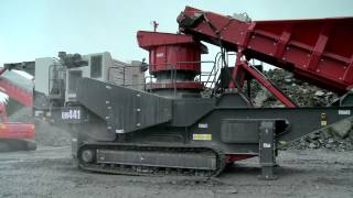 qh441 mobile cone crusher