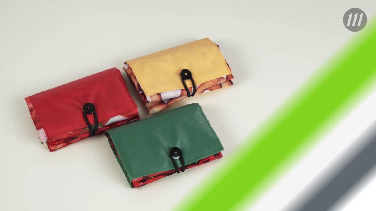47bc7efb608e Складная сумка для покупок «Продукты» - YouTube