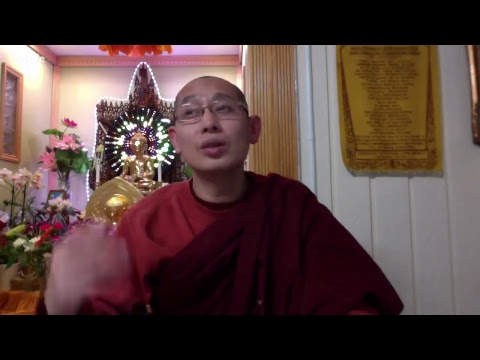"""Abhidhamma Lecture (English) January 3, 2018 """"Cosmology in Buddhism"""" (Part-1)"""