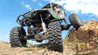 RC ADVENTURES - Axial Wraith - Bashing, Rock Crawling, & Smashing the Trail