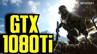 Battlefield 4 GTX 1080 Ti OC (Multiplayer) 1080p - 1440p & 4K (2160p) FRAME-RATE TEST