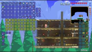 Sign Plays :: Modded Terraria Episode 5 :: House Building and New NPCs