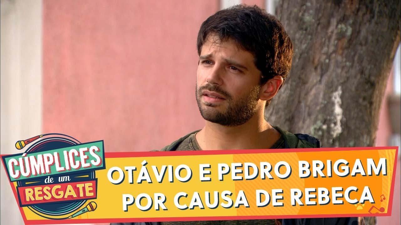 Otávio e Pedro brigam por causa de Rebeca   Cúmplices de Um Resgate (30/12/19)