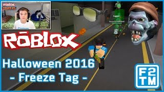 Roblox Halloween 2016 - Hallows Eve Gamer Glasses & NERF Zombie Mask | Freeze Tag
