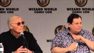 Wizard World 2014 in St. Louis Adam West and Burt Ward Q&A Panel