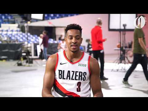 CJ McCollum loves the Cleveland Browns and bets his team will beat Damian Lillard's Oakland Raiders