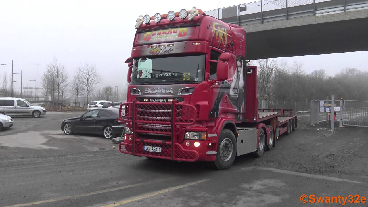 Fantastic 4K| 2x Scania R620 V8 Sound & Scania R730 - YouTube GY89