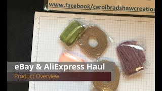 eBay & AliExpress Haul – Product Review