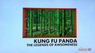 Brand New Kung Fu Panda Legends of Awesomeness 2012 UK Bump